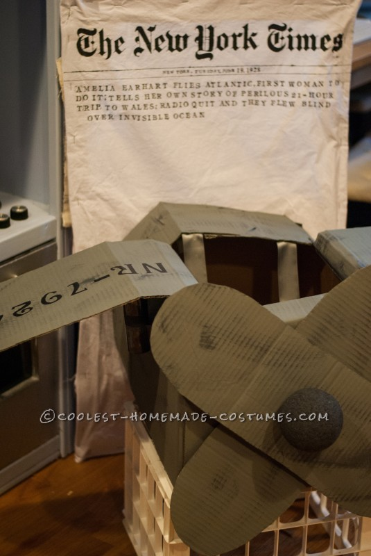 DIY Amelia Earhart Costume with a Twist