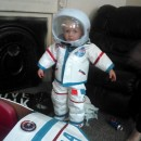 DIY Toddler Astronaut Costume and Space Ship