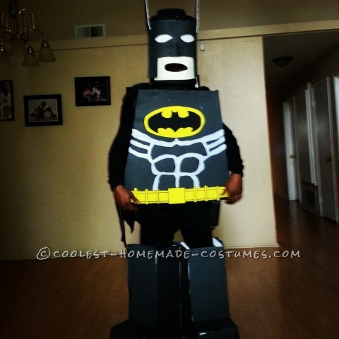 First Try DIY Lego Batman Halloween Costume