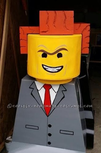 Cool DIY Lego Family Costume