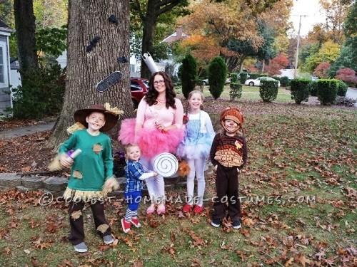 DIY Wizard Of Oz Family Costume