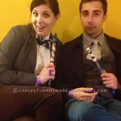 Whovian Doctor Who Couple Costumes