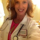 Fun and Interactive Doctor's Costume for a Single Woman