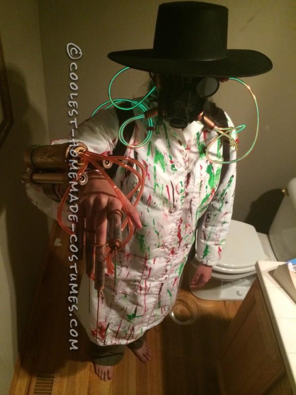 Cool DIY Dr. Chernobyl Costume