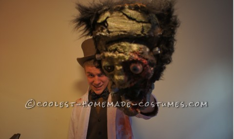 Dr. Frankenstein and his Puppet Monster Frank