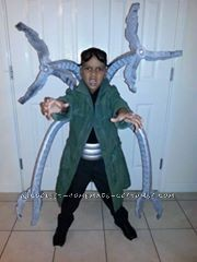 Coolest Dr Octopus Kids Costume - 2