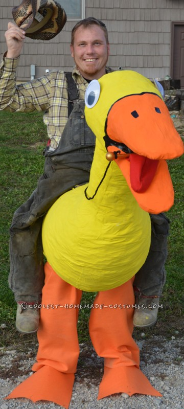 Awesome Illusion Costume: Duck Cowboy - 2