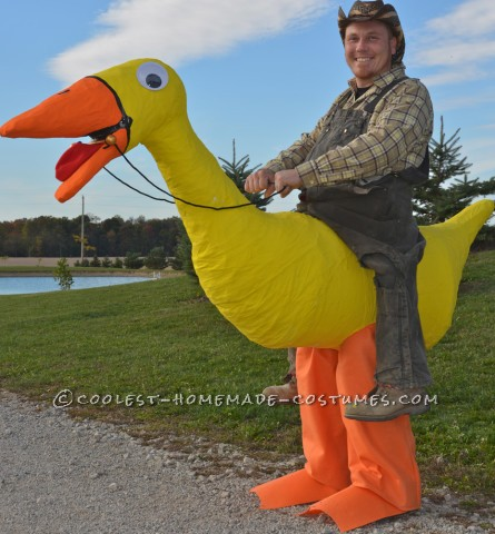 Awesome Illusion Costume: Duck Cowboy