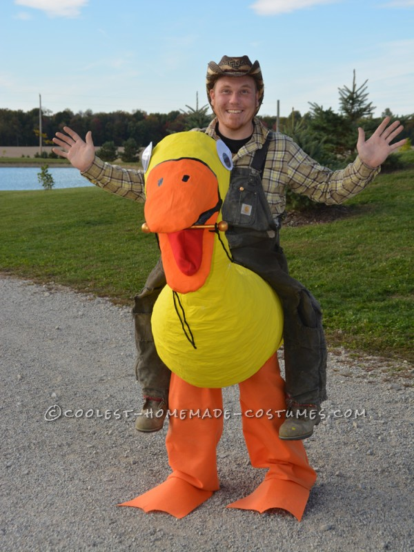 Awesome Illusion Costume: Duck Cowboy - 1