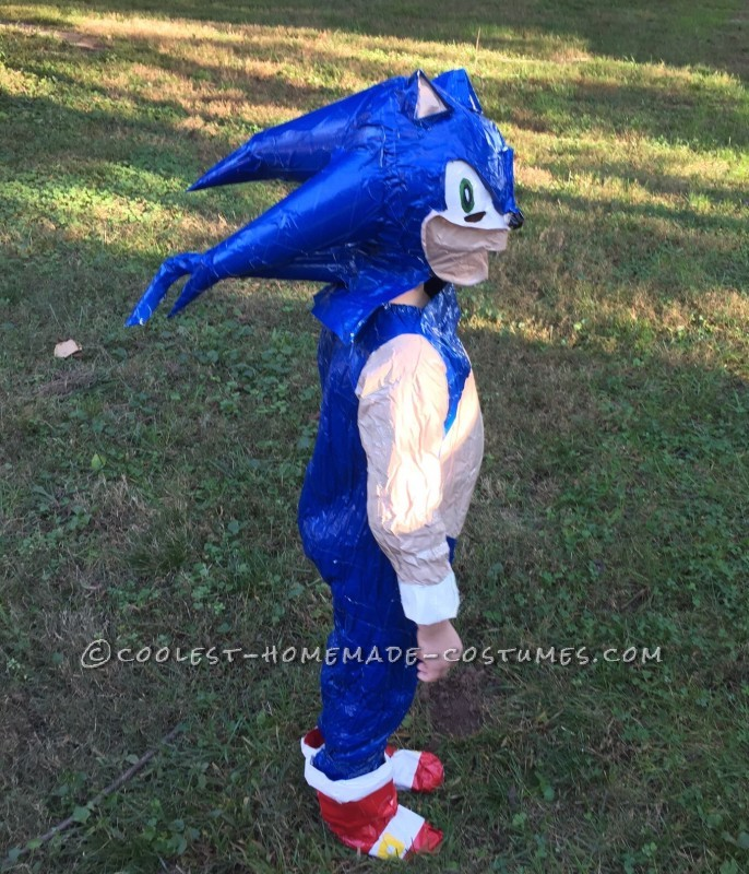 Sonic side view