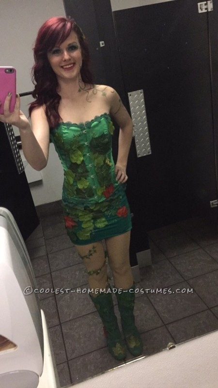 Sexy DYI Poison Ivy Costume