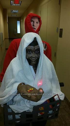 Cool DIY Costume Idea: E.T. Phones Home Again - 1