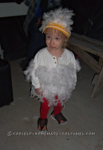 Easy Chicken Costume that Everyone Loves
