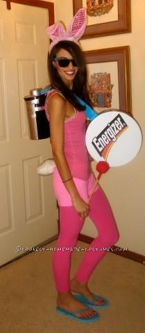 Easy Energizer Bunny Costume!