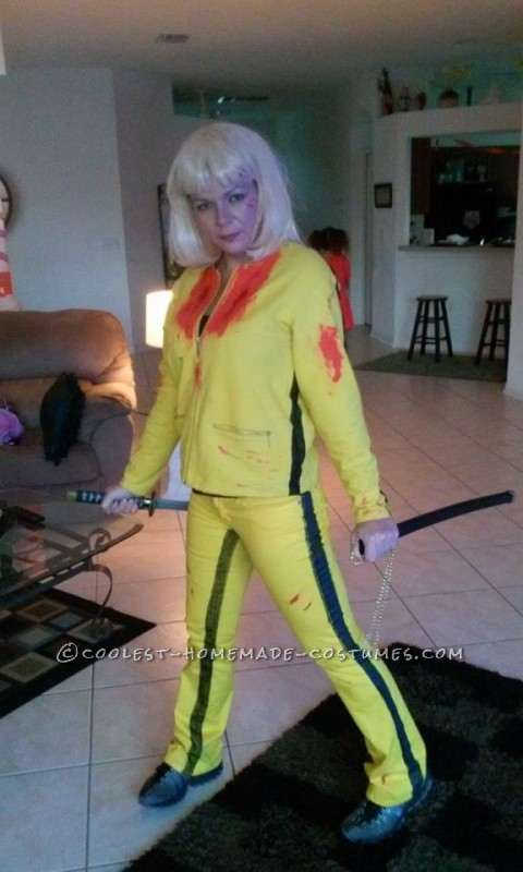 Easy Kill Bill Black Mamba Costume