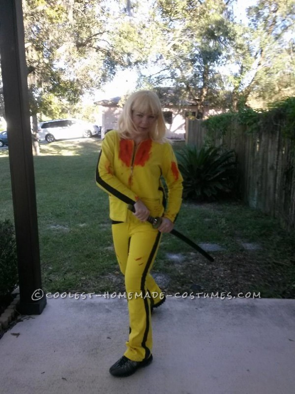 Easy Kill Bill Black Mamba Costume