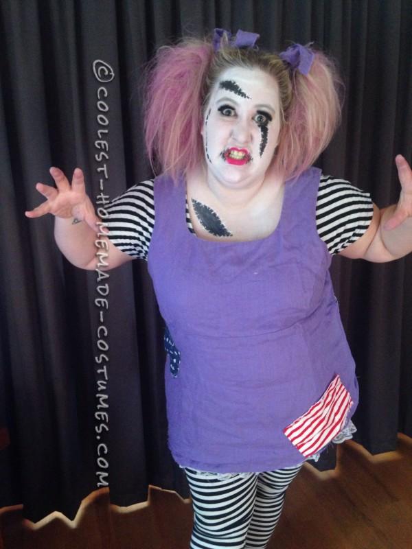Easy Homemade Rag-Doll Costume - 3