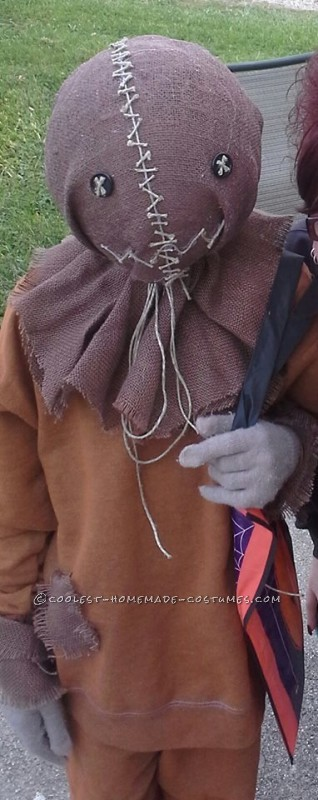 Spooky Sam Costume from the Trick r Treat Movie