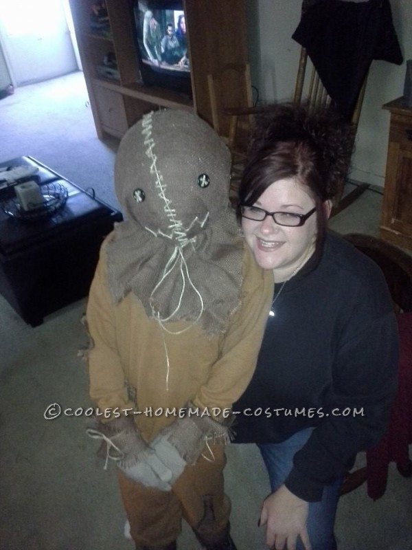 Spooky Sam Costume from the Trick r Treat Movie - 1
