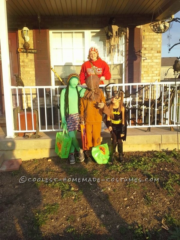 Spooky Sam Costume from the Trick r Treat Movie - 4
