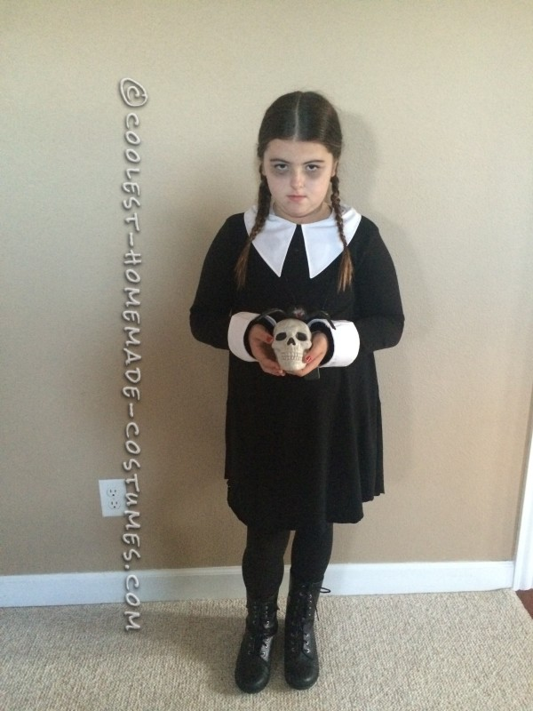 Diy Wednesday Addams Costume Collar Diy Campbellandkellarteam