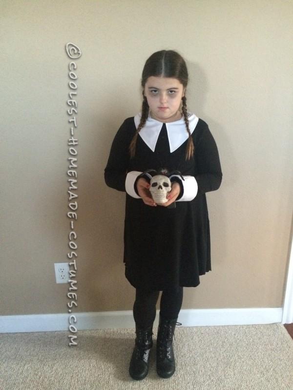 Diy Wednesday Addams Costume Collar Diy Campbellandkellarteam