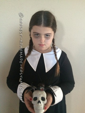 Last Minute Easy Wednesday Addams Costume