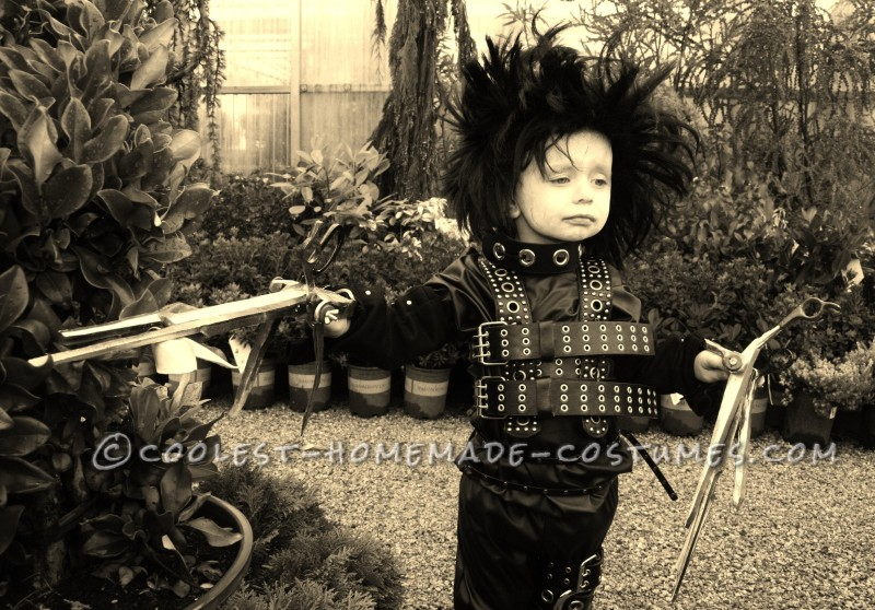 Coolest Jr. Edward Scissorhands Costume