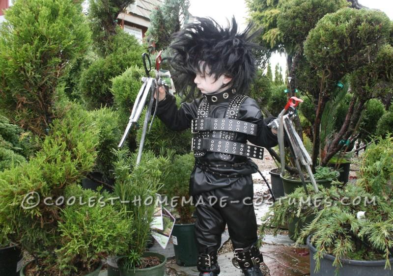 Coolest Jr. Edward Scissorhands Costume - 2