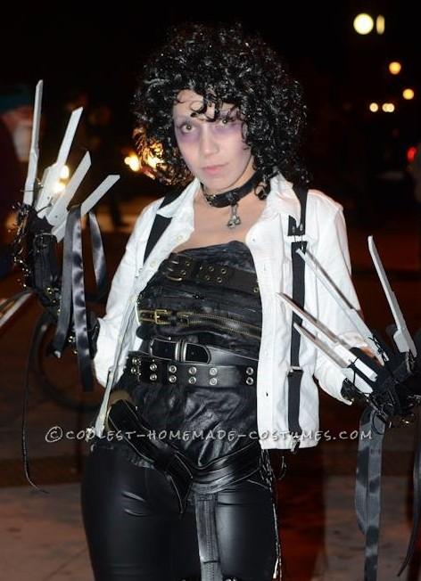 Coolest Edwardia Scissorhands Costume - 1