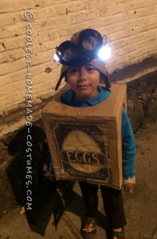 Cute DIY Costume Idea: Eggs from The Boxtrolls
