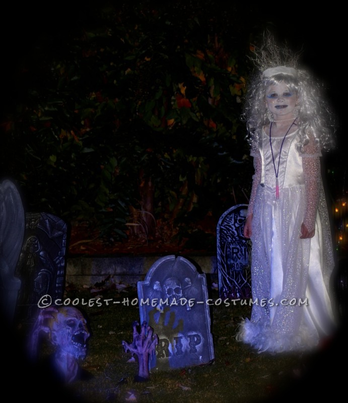 Original and Scary Ice Queen Costume for a Girl - 7