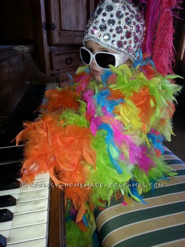 Elton John playing our home piano