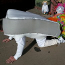 Coolest Dad and Child Costume: Elton John and Piano