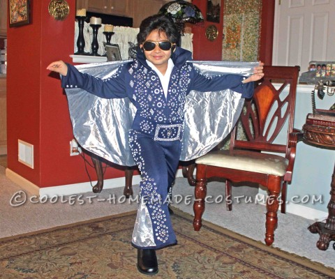 Rocking Junior Elvis Costume