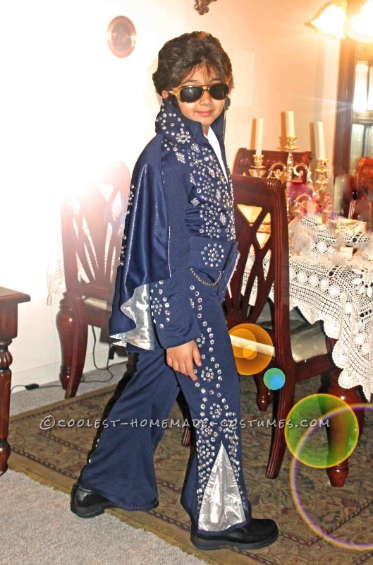 Rocking Junior Elvis Costume - 3