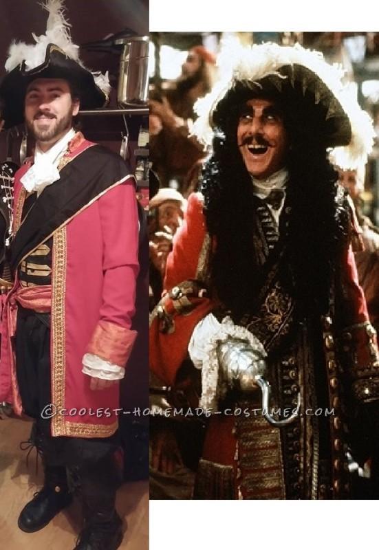 Epic Captain Hook Halloween Costume - 2