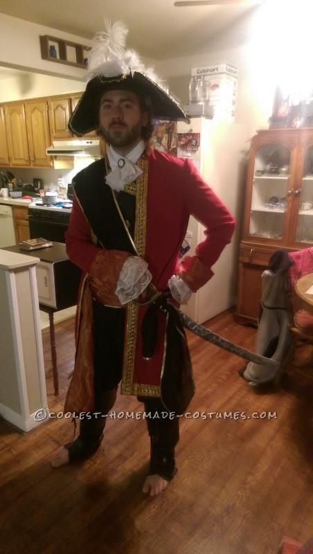 Epic Captain Hook Halloween Costume - 3