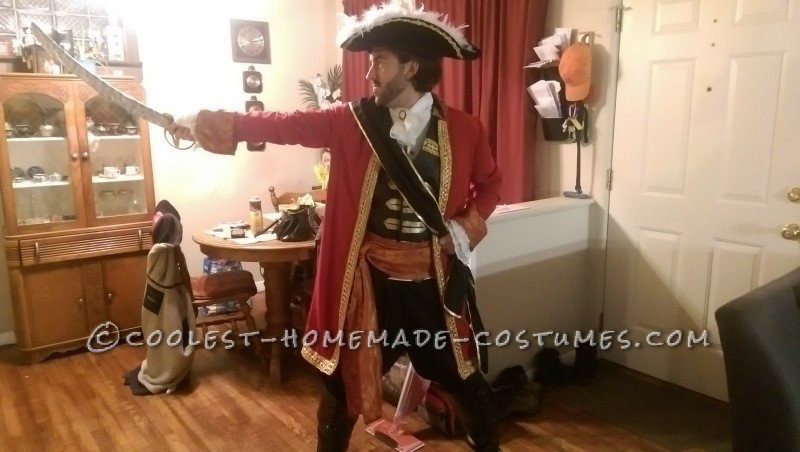 Epic Captain Hook Halloween Costume
