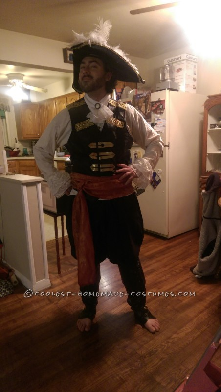 Epic Captain Hook Halloween Costume - 5