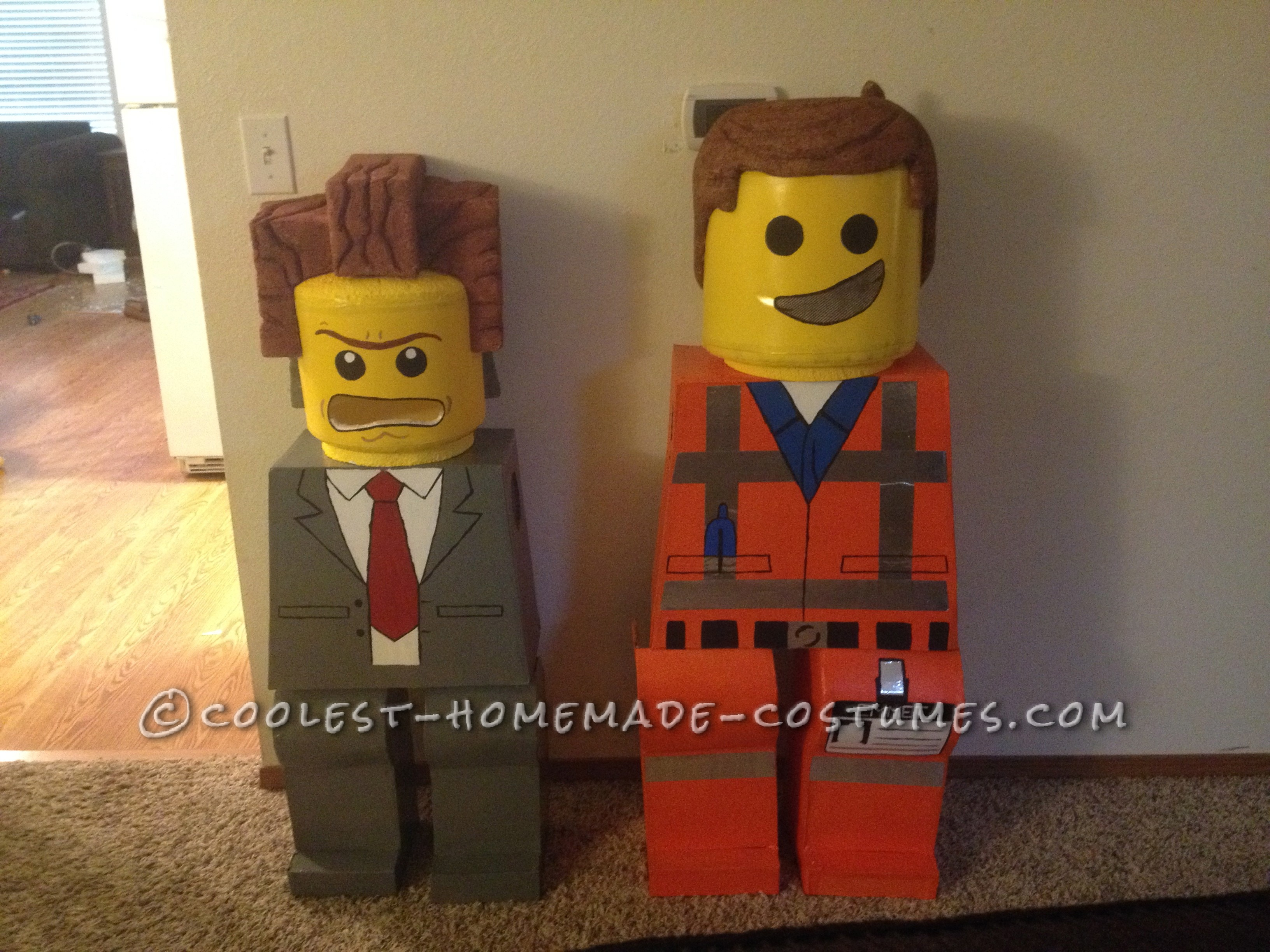 Everything is Awesome with These LEGO Movie Costumes