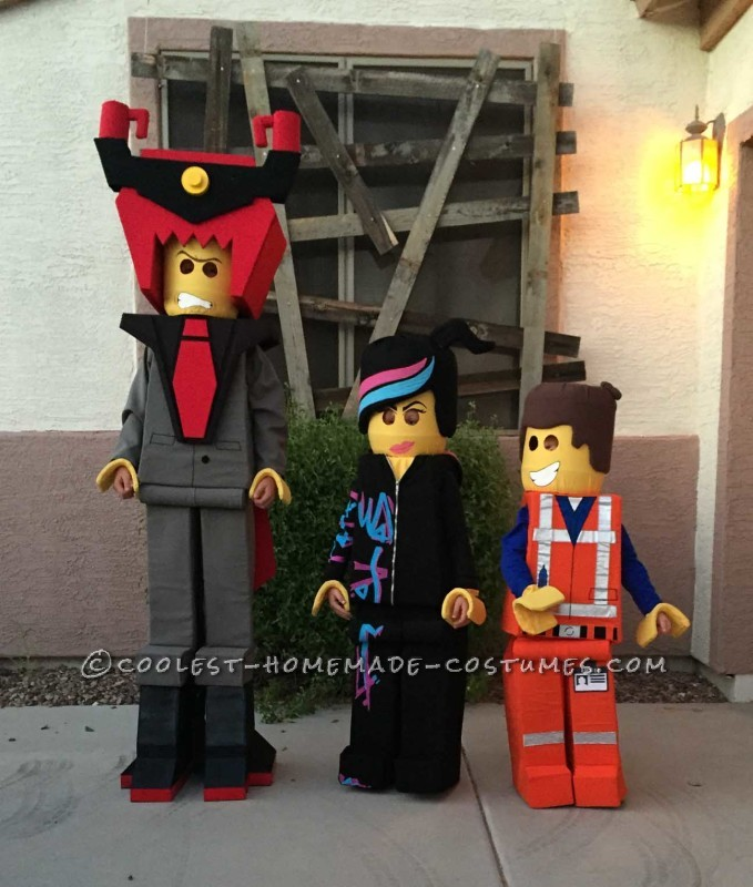 Awesome Lego Movie Group Costume for Kids