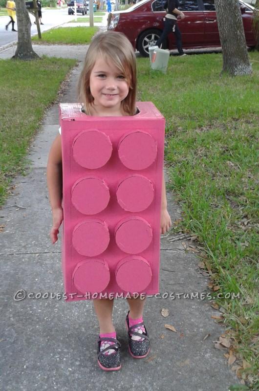 Pink Lego Princess