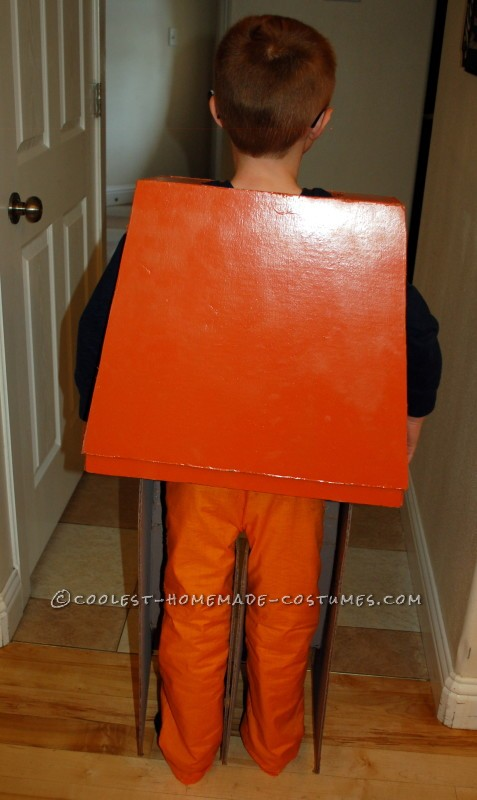 Homemade Orange Pants