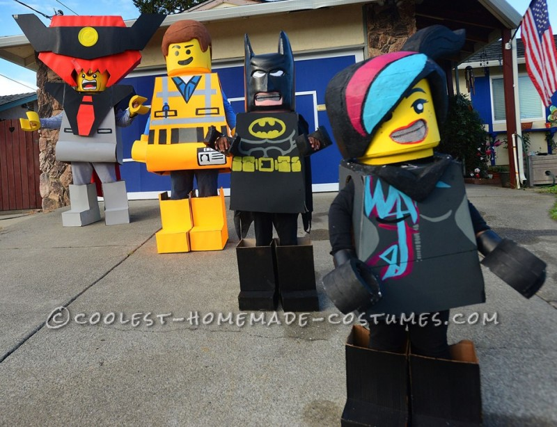Everything is Awesome Lego Family Costume