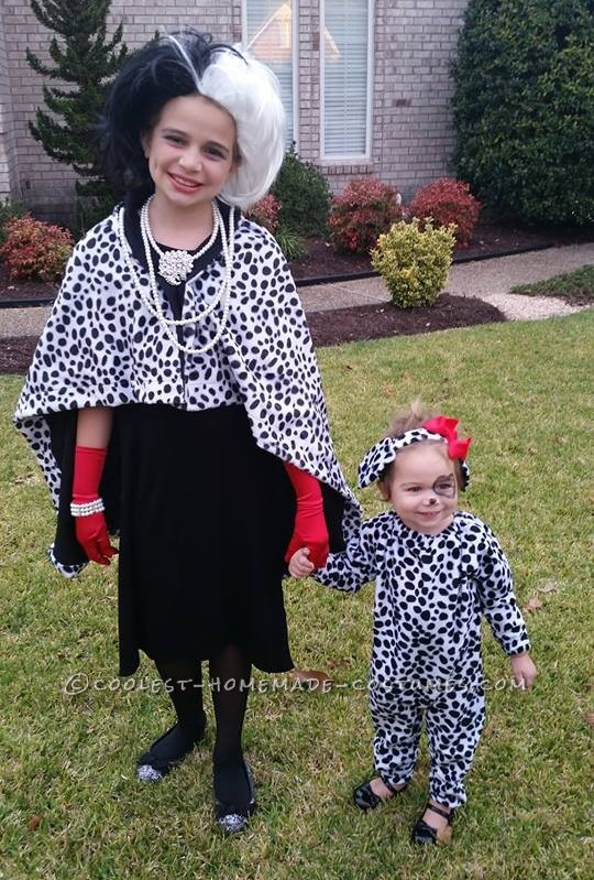 Evil Cruella and Her Innocent Dalmatian Puppy