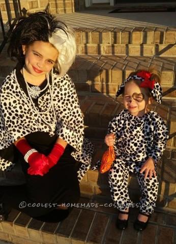 Evil Cruella and Her Innocent Dalmatian Puppy