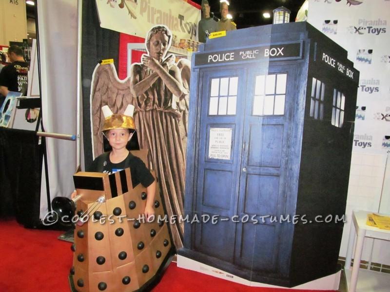Angel, TARDIS, Dalek