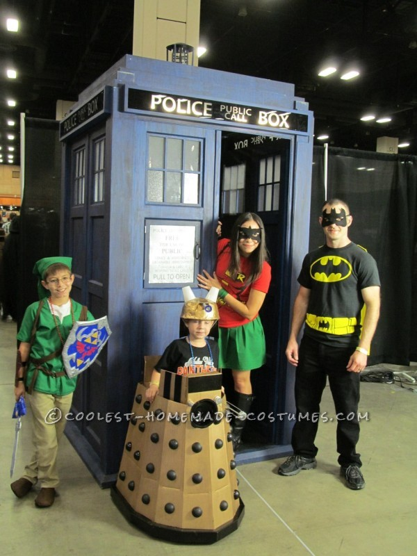 Coolest Homemade Doctor Who Costume
