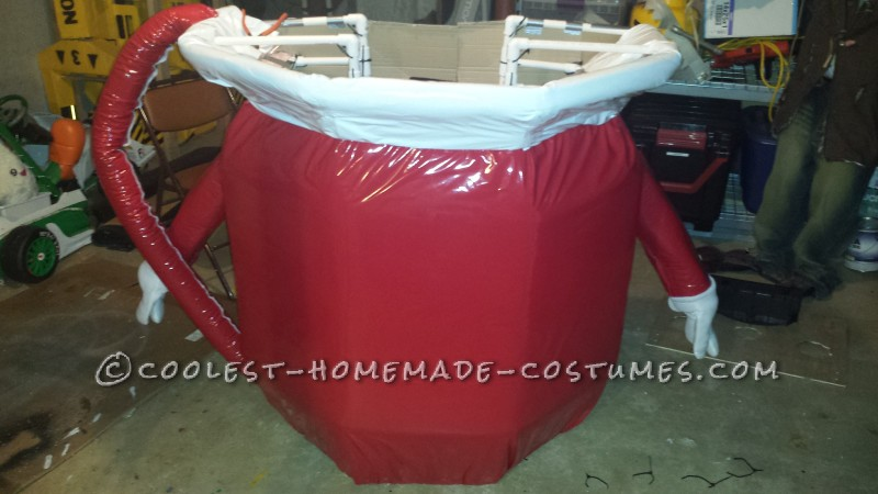 Red and White Pleather Added